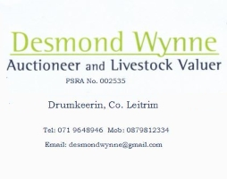 Desmond Wynee Auctioneer