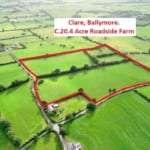 Public Auction 20 acres farm land O'Roarke Bros Co. Westmeath