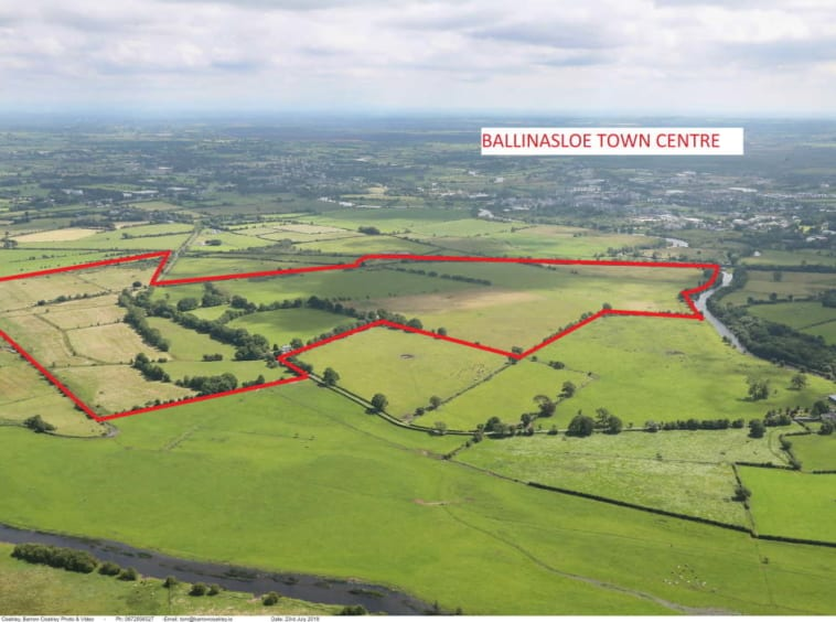 For Sale by Public Auction 'Ashford' Residential Farm On 184 Acres Agricultural Land Co. Galway James L. Murtagh