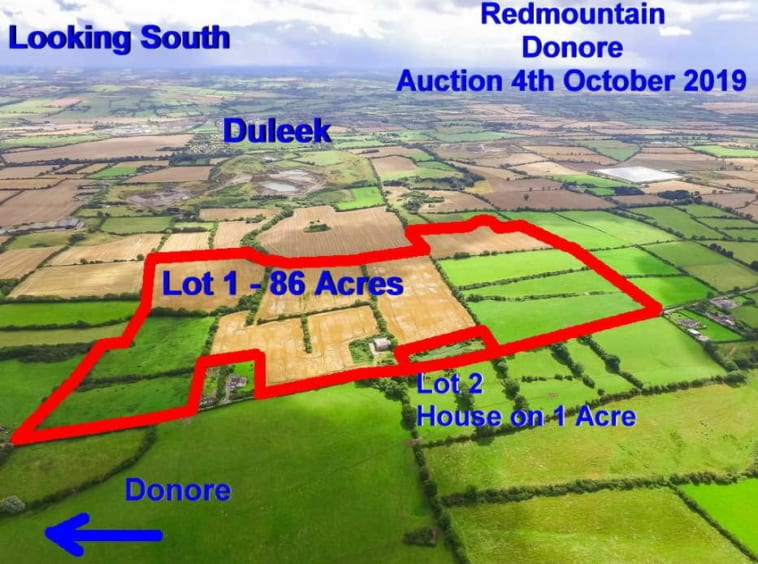 Public Auction by Robt. B. Daly & Sons: 87 Acre Residential Farm Holding With FPP Residence (Available in 2 Lots)