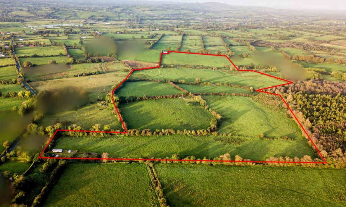 For Sale By Public Auction by Robt. Nixon & Co.; 54 acre Agricultural Farm Holding