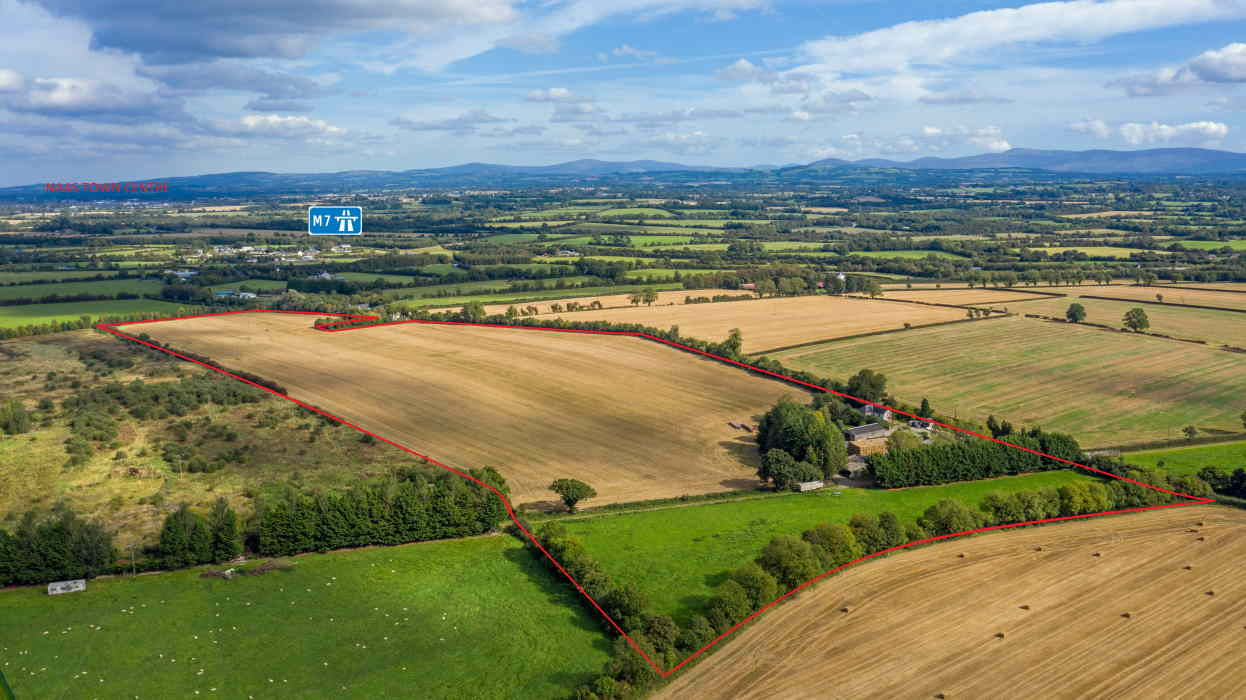 Public Auction by O'Neill & Co. : Smiths Farm 42 Acre (17.14 Ha.) Residential Farm Holding With Extensive Outbuildings