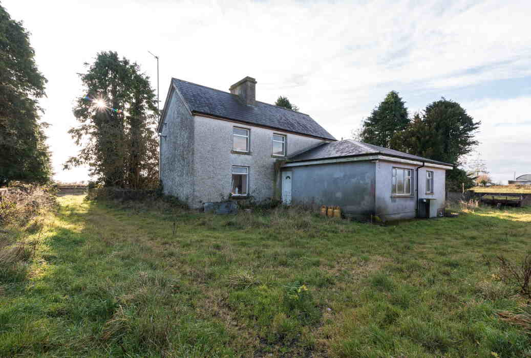 On The Market From John Dolan Auctioneers: 57 Acres With Derelict Famhouse And Range Of Outbuildings.