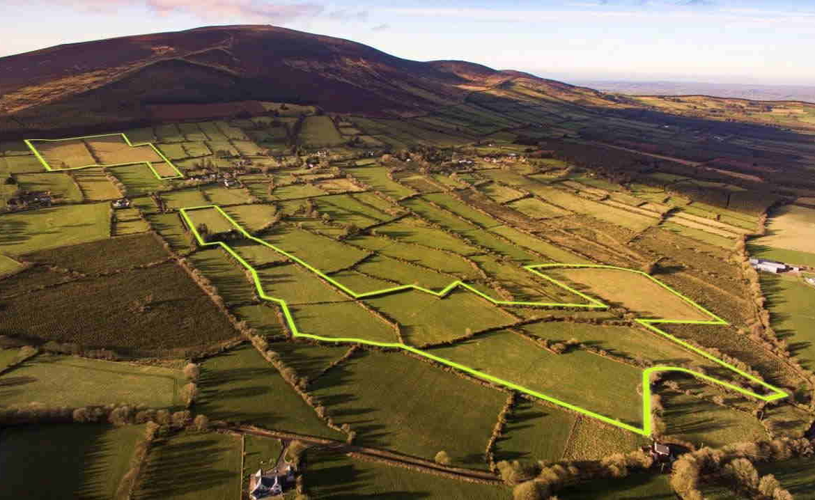On The Market From Dougan Fitzgerald: 49 Acre Residential Farm Holding With Range Of Outbuildings (Available in Lots)