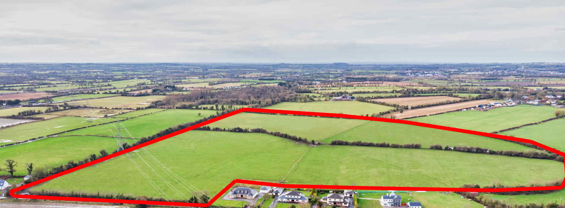 On The Market From The Property Shop (Dunboyne): Impressive 61.72 Acre Residential Farm Holding (7 Bedroom Farmhouse)