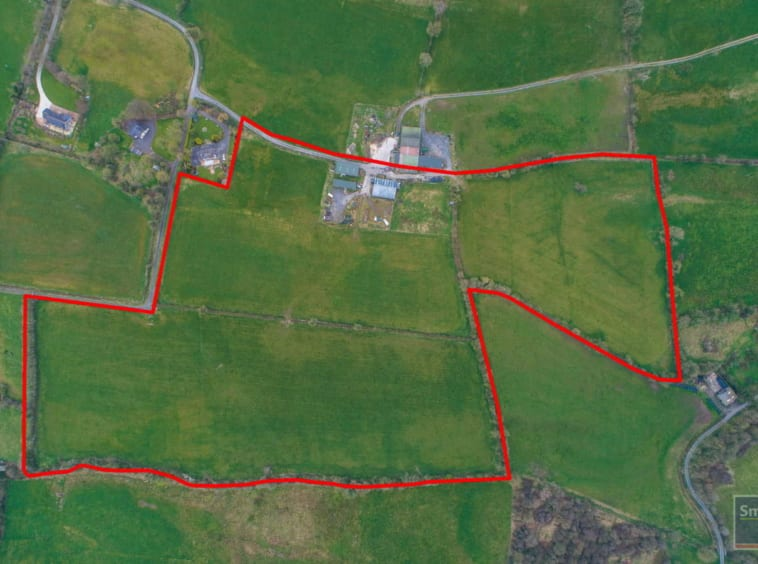 On The Market from SmithProperty: Prime Prime 66 Acre Roadside Farm With Modern Outbuildings Conveniently Situated On The Edge Of Cavan Town.