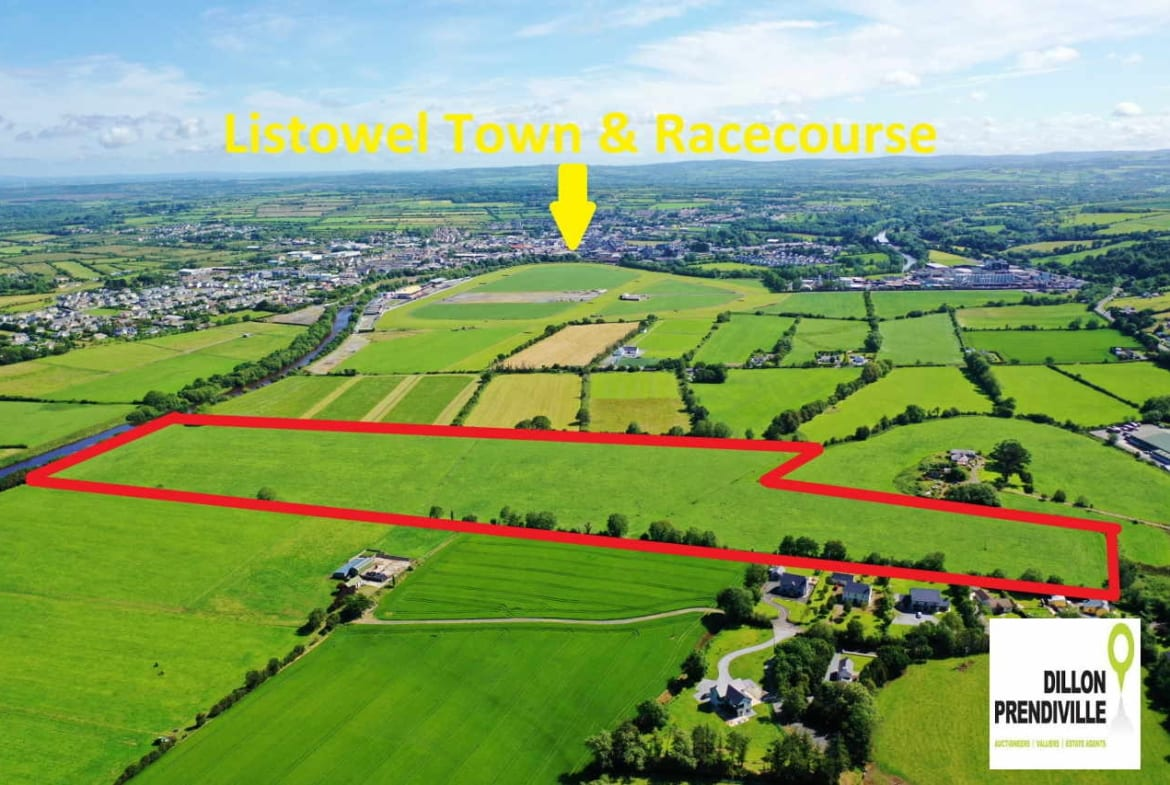 On The Market From Dillon Prendiville Auctioneers: A stunning parcel of land extending to some 29.5-acres.