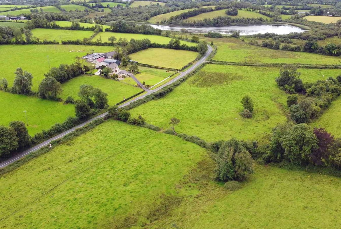 For Sale By Mark Lawlor Auctioneer 34.3 acres The Commons, Belturbet, Co. Cavan