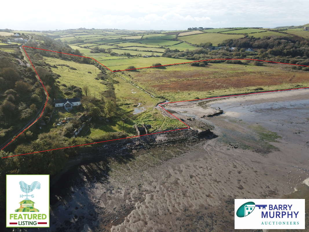 On The Market From Barry Murphy Auctioneers Ltd: 78 Acre Coastal Farm With Detached Residence Agricultural Property Location: Creadan, Dunmore East, Co. Waterford, X91 WP74