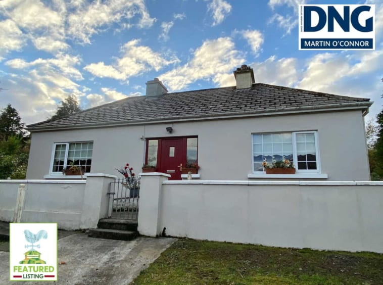 On The Market from DNG Martin O'Connor Land Sales: 80.72 acres (32.67 hectares) Working Hill Farm With 4 Bedroom dwelling House & Range Of Outbuildings / Sheep Handling Facilities Agricultural Property Location: Tawnaghmore, Recess, Co. Galway, H91 YE9R