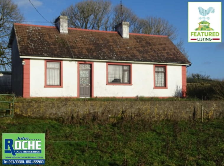 On the Market From John Roche Auctioneering: Excellent Quality Small Farm Holding With Bungalow Residence