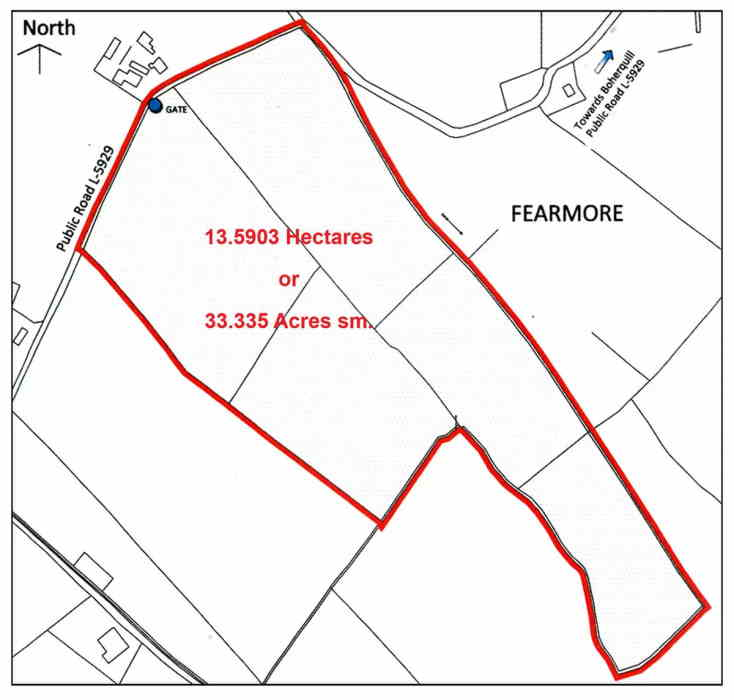 On The Market from Moore Bros. : 33.5 Acre Top Quality Roadside Farm