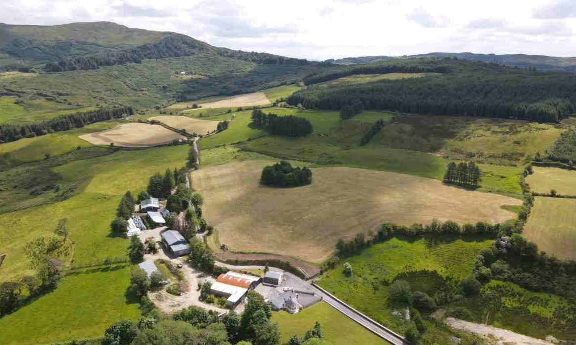 On the Market from Hodnett Forde Property Services: Attractive C. 115 Acre Farm Holding, Outbuildings, & Entitlements - In 1 or 4 Lots