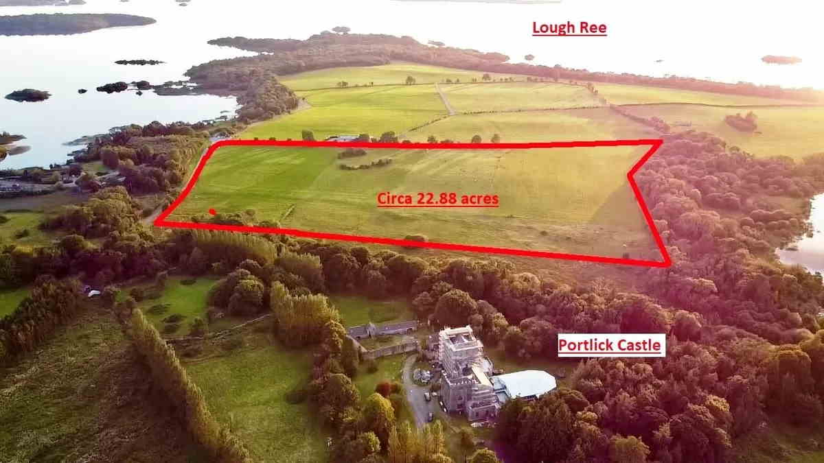 On the Market from O'Roarke Bros.: Excellent Quality 22.8 Ac. Grassland Farm Holding overlooking Portlick Castle